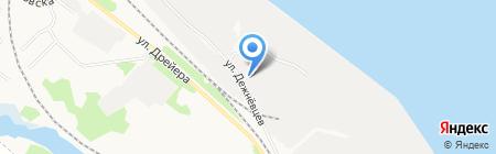 ОнТек на карте Архангельска