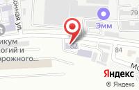 Схема проезда до компании Мальвина в Кропоткине