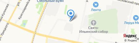 Управляющая компания Норд-сервис на карте Архангельска