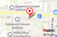 Схема проезда до компании Волнаир и К в Кропоткине
