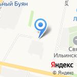 Живчик на карте Архангельска