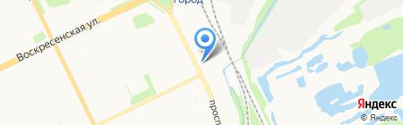 Bliss на карте Архангельска