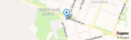 Храм Святителя Тихона на карте Архангельска