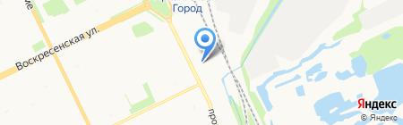 МБМ на карте Архангельска