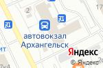 Схема проезда до компании Магазин детской одежды и товаров для рукоделия в Архангельске