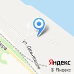 Меком на карте Архангельска