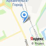 Пальчики оближешь на карте Архангельска