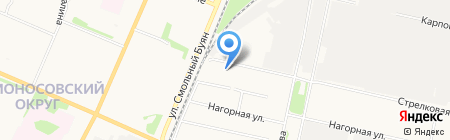 Встреча на карте Архангельска