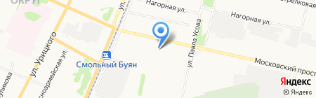 Ирина на карте Архангельска