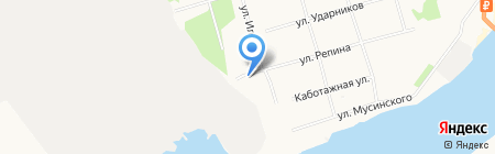 Нива на карте Архангельска