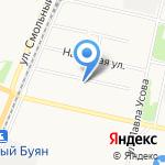 Единый лесопожарный центр на карте Архангельска