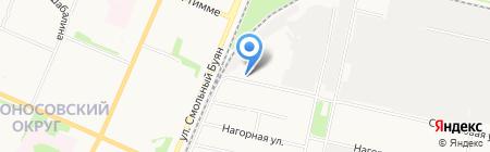 Норд Соя на карте Архангельска