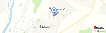 Раменская слобода на карте Баскаков