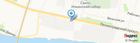 Торгинвентарь на карте Архангельска