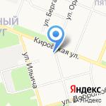 Беломорье на карте Архангельска