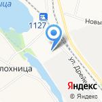 Поморский пекарь на карте Архангельска