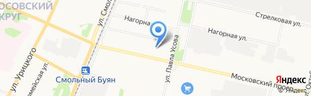 Учебно-методический центр по ГО ЧС и пожарной безопасности Архангельской области на карте Архангельска