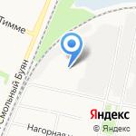 Архангельское УПП на карте Архангельска