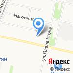Учебно-методический центр по ГО на карте Архангельска