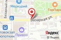 Схема проезда до компании Духовный Собеседник в Кропоткине