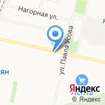 Fan-Fan на карте Архангельска
