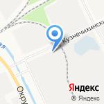 Балтсталь на карте Архангельска
