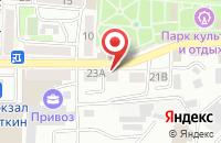 Схема проезда до компании Региональный Фонд Защиты Средств Массовой Информации в Кропоткине