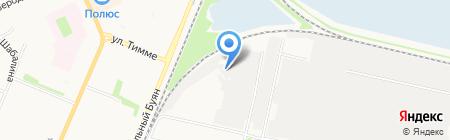 Севзапэлектромонтаж на карте Архангельска
