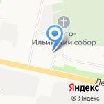 Архангельская Епархиальная воскресная школа на карте Архангельска
