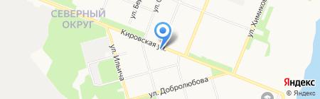 Вита Норд на карте Архангельска