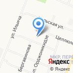 Средняя общеобразовательная школа №51 на карте Архангельска