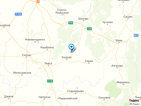 деревня Курган на карте