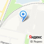 БережИна на карте Архангельска