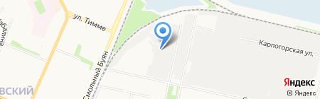 Продсервис на карте Архангельска