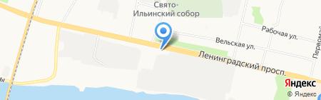 Любимый дом на карте Архангельска