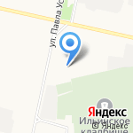 Инфокар на карте Архангельска