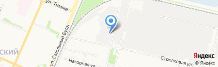 ГОСТстрой на карте Архангельска