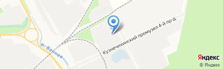 Архэнерго на карте Архангельска