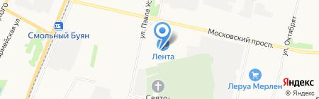 АТМ-авто на карте Архангельска