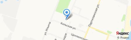 Винни-Бух на карте Архангельска