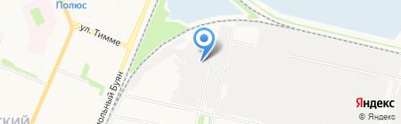 555 на карте Архангельска