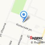 Магазин детской одежды на карте Архангельска