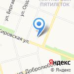 Магазин детской одежды и обуви на карте Архангельска