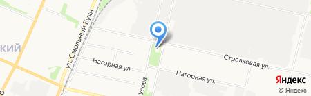 Баку на карте Архангельска