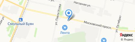 НЕО на карте Архангельска