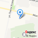 Тафура на карте Архангельска