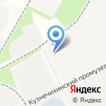 Архангельская городская станция по борьбе с болезнями животных на карте Архангельска