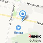 Свет на карте Архангельска