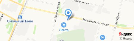 Севертранс на карте Архангельска