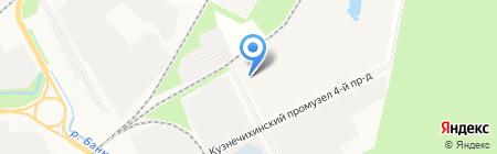 Городская станция по борьбе с болезнями животных на карте Архангельска